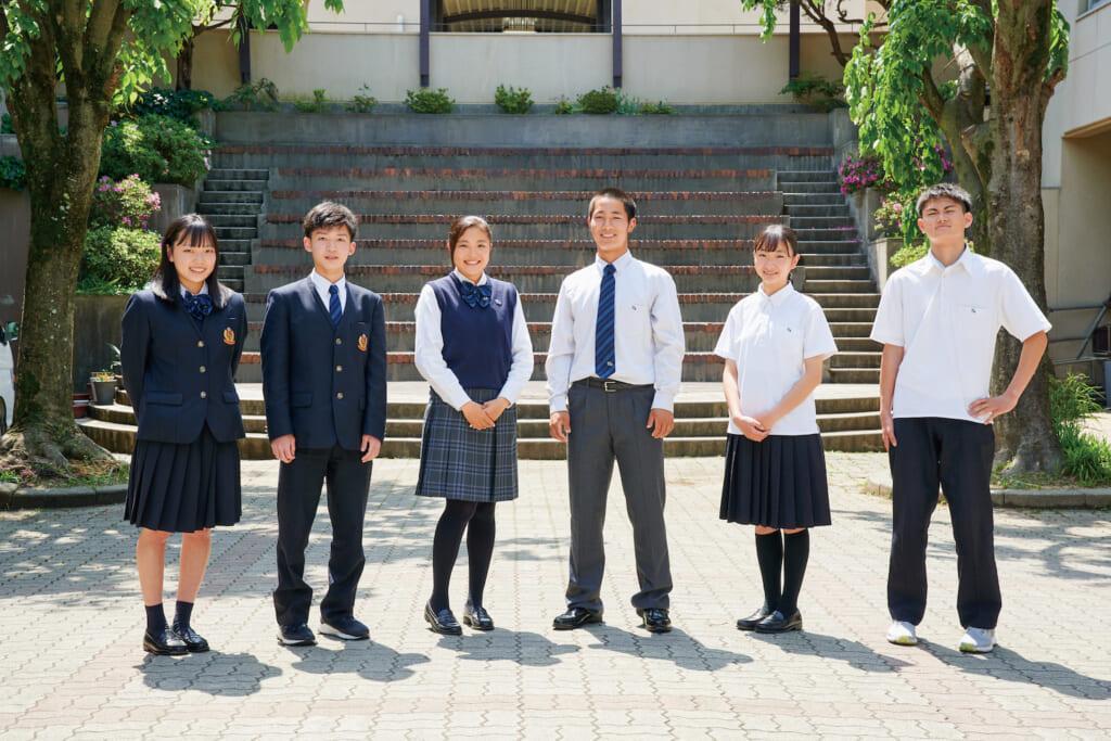 滝川第二高等学校制服
