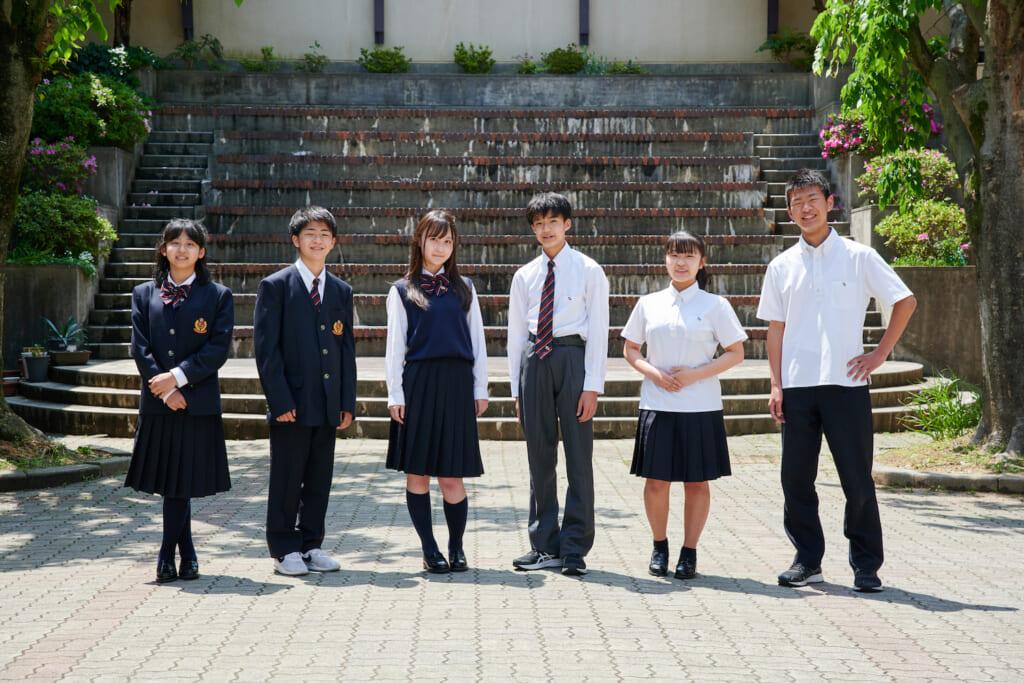 滝川第二中学校制服